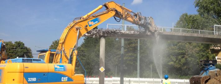Zollbergsteg Esslingen Abriss 2014