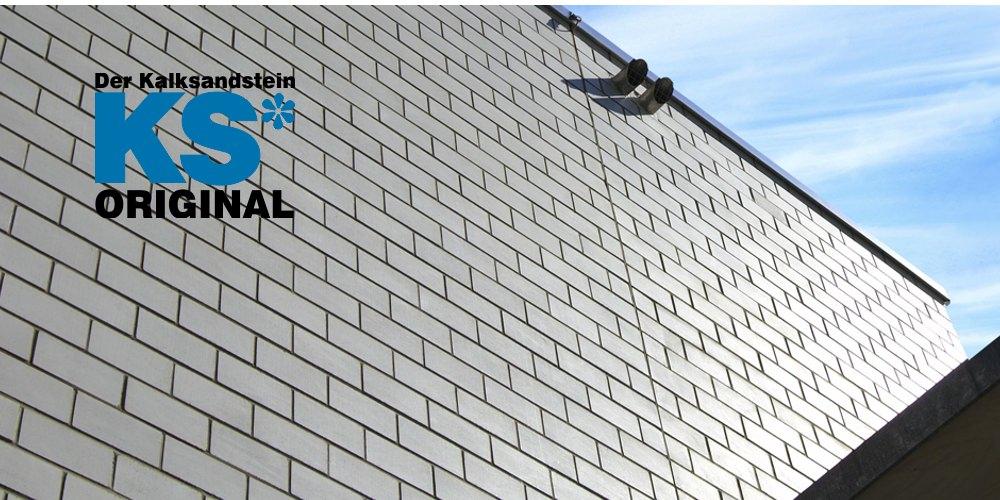 KS*-Original Kalksandsteine Sichtmauer Fassade