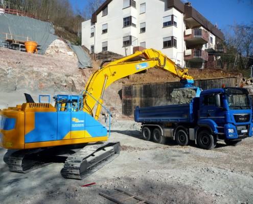 Bayer Erdbau Esslingen Volvo EC250ENL Kettenbagger