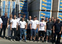 Mauer-Meisterschüler Steinbeisschule 2017